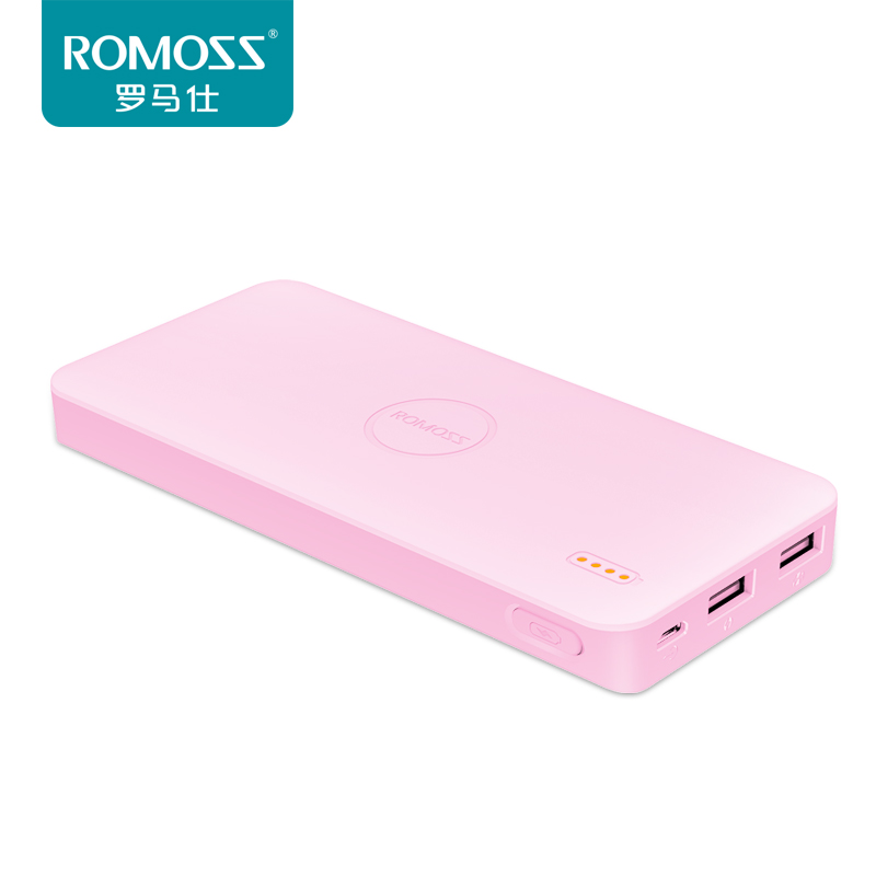 romanos / romoss 10000 ma slim and lovely portable universal polymer power supply