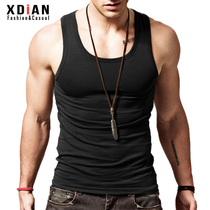 Gilet pour hommes cotton pour hommes jeunes Sports respirants fitness slim-fit tight sleeveless hurdle sweat summer tide