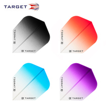 TARGET PRO $ VISION Series Gradient Darts Wing small square darts tail color dart leaves