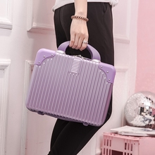 14-inch Mini Cosmetic suitcase Personality fashion travel mother-child suitcase Hand-held small cosmetic bag scratch-proof and wear-resistant
