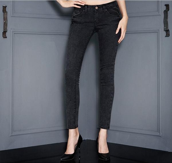 2b9553562bb Джинсы женские Азбука Корея покупке думаю 2014 осень женская мода ультра  тонкий значительно тонкие ноги джинсы ye8d3168 Guess ABC
