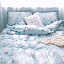 Bedding 4 sets of 100% cotton pure cotton small refreshing summer quilt set of one meter five sets of three sets of bedding