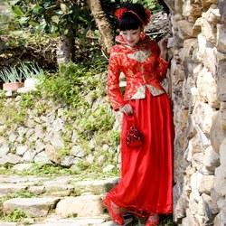 名门新娘 601旗袍