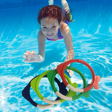 Fish-shaped underwater dive teaching aids for children in summer