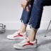 小白鞋女百搭街拍学生韩版厚底板鞋系带松糕鞋2018春秋新款帆布鞋
