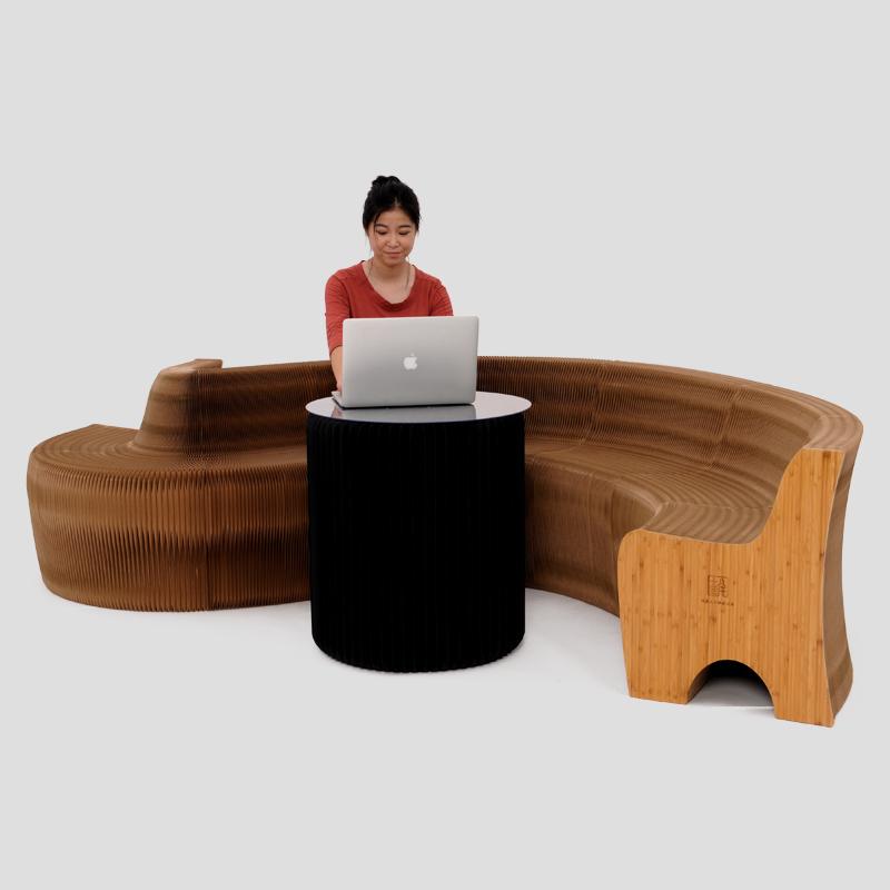 #水火不惧的创意纸家具#纸家具可谓是充满了创造性与灵感的作品…