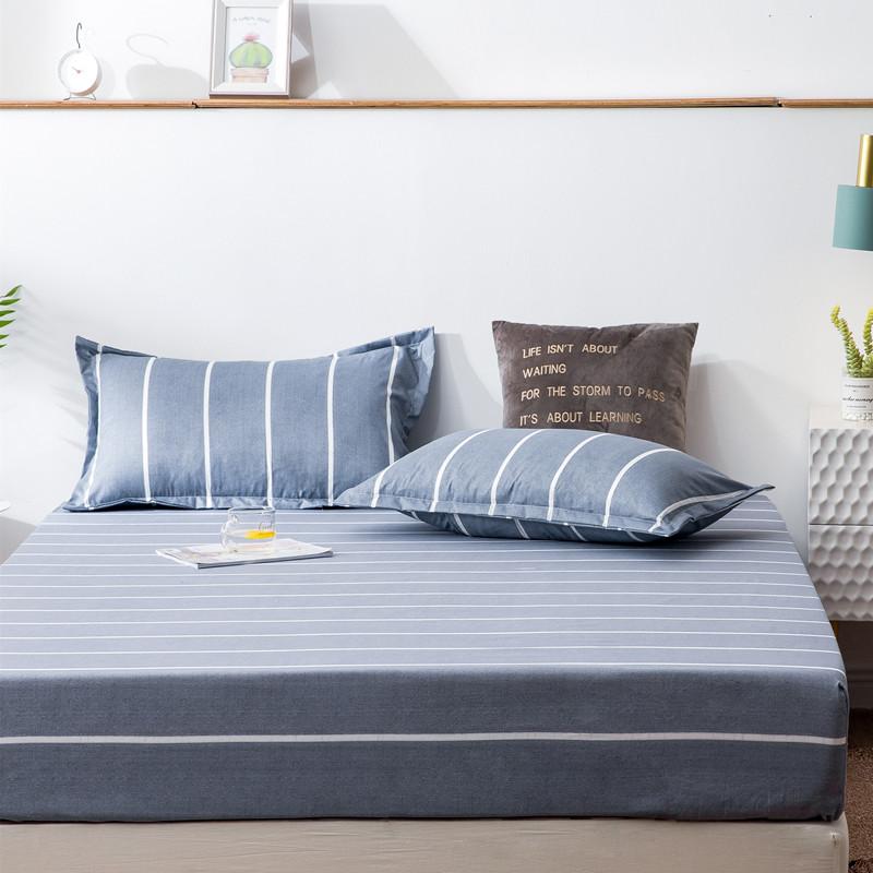 任意夹棉床笠床罩床单件透气床垫加厚防尘床罩套席梦思保护套全包