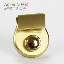Swiss Amiet Handbag Lock Small Leather Lock Women's Bag Lock Men's Bag Lock M35112 Domestic Assembly