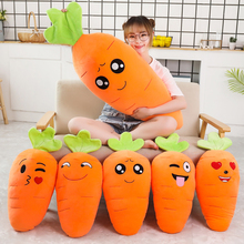 Carrot Pillow Boy Big Plush Toy Sleeps with You Long Pillow Super Soft Cute Girl Bed Doll