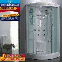 Overall bathroom arc fan-shaped fully enclosed one-piece shower room shower room bathroom shower room