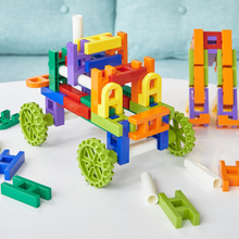 Cunningly Matching Plug Block Plastic Thickening 3-6 Years Old Children's Intelligence Building Assembly Toy Boys