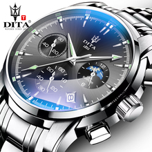 Genuine Watches Men's Automatic Mechanical Watches Trend 2019 New Waterproof Quartz Watches with Refined Steel Strips for Men's Watches