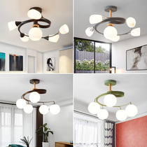 Nordic chandeliers creative macaron living room bedroom lights dining room chandeliers modern minimalist childrens room lamps