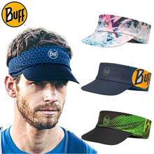 New product buff outdoor anti UV running cap, men and women marathon quick dry top sun shading helmet