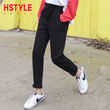 Handu Clothes House 2019 Korean Version Female Spring New Loose Leisure Slim Hallenga Casual Pants NG9272
