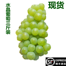 Crystal Grape Pass Grape Green Grape Enshi Native Product Non-green Extract Fresh Fruit 3 Kinds Packing and Mailing