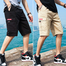 Shorts Men's Five-minute Pants Summer Thin Fashion Brand overalls Loose Seven-minute Pants Sports Men's Leisure Pants