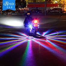 Rui Lipu 12V lights, motorcycle chassis lights modified ghost train lights modified, flashing lights, decorative lights seven colors.