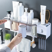 Bathroom shelf, household articles, toilet, washroom, washroom, wall hanging, perforation-free bathroom, toothbrush and toothpaste receiving artifacts