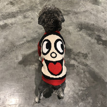 Dog Clothes Winter Clothes New Year Wangzi Sweater Red Snow Rite Dibby Bear Fa Dou Pug Cat Pet Clothes