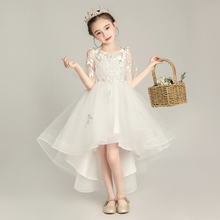 Girls'Wedding Dresses, Princess Skirts, Flowers, Children's Pengpeng Dresses, Children's Compere Dresses, Girls' Piano Performance Dresses, Summer