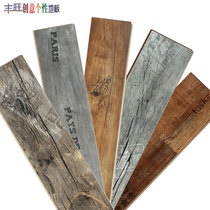 Reinforced composite wood flooring retro personality wear-resistant waterproof clothing store grey industrial Wind Nordic factory direct sales