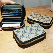 Lovely super slim organ pocket card, ladies' ID card, card bag, card bag, large capacity and zero wallet.