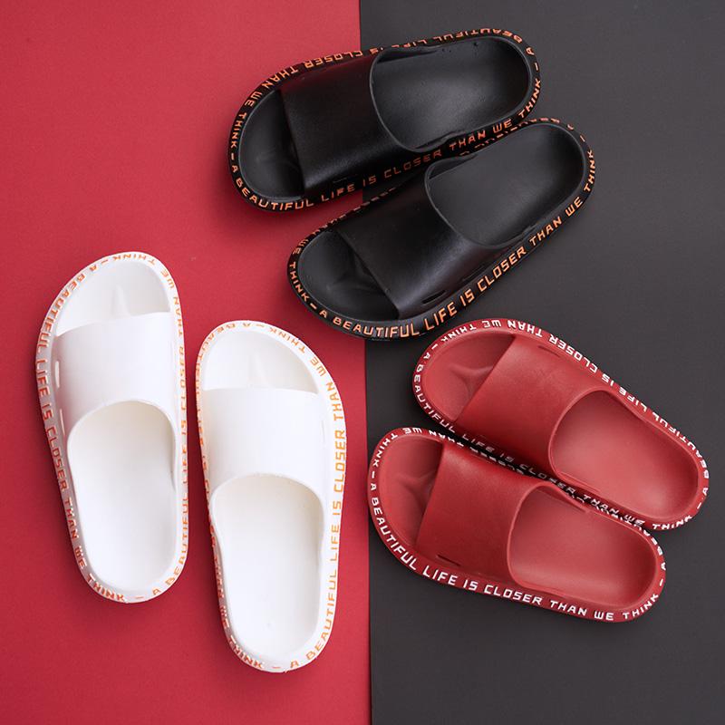 外穿網紅涼拖鞋家用女士室內情侶防滑厚底可濕水居家ins男潮夏天