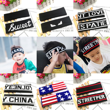 Korean version of summer children's sports sweat-absorbing hairband girls hip-hop performance boys basketball hip-hop performance Headband