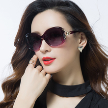 New Polarized Sunglasses Round Face Women's Sunglasses Moisture Ultraviolet-proof GM Glasses Korean version Big Face ins