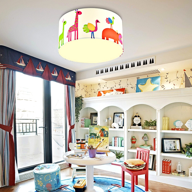 奇趣的兒童房,喜欢缤纷的色彩,和明朗的色调搭配,充满生机和活...
