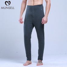 Men's Pure Wool Pants, Autumn and Winter Warm Pants, Cold-proof Cotton Pants and Flannel Pants, Thickened Bottom Pants