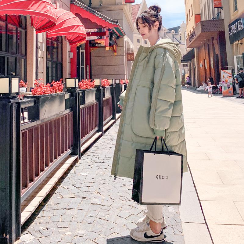中长款羽绒棉衣棉服女韩版宽松冬季外套冬装棉袄2020年新款女加厚