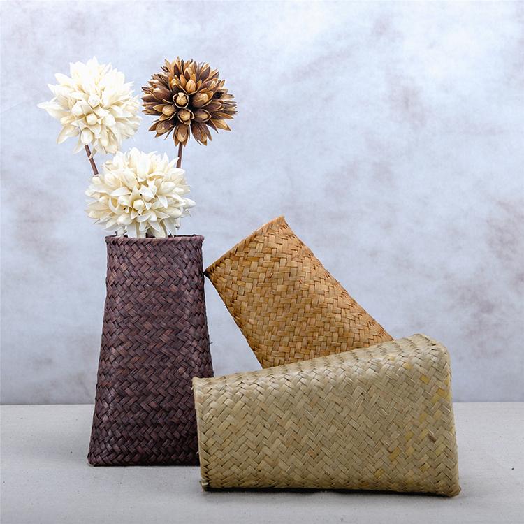 """#编织出的美好#精心编织,创意设计,田园风的展现,亦如""""采菊..."""