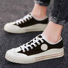 Men male teenagers canvas shoes summer male students breathable teenage canvas shoes