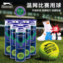 Slazenger/Schlesinger Tennis Purple Iron Canned Wimbledon Competition