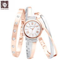 Anne klein Anne Klein Swarovski crystal alloy fashion womens watch set Wangfujing AK
