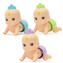 Climbing Doll Baby Learns to Crawl Children Talk Electrically Climbing Baby Puzzle Children Climbing Doll Music