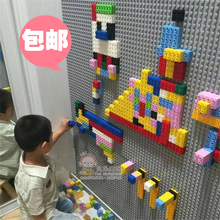 Baoyou Children Compatible with Lego Small Particle Large Particle Building Block Wall Floor Puzzle Building Area Wall Floor Mosaic Floor
