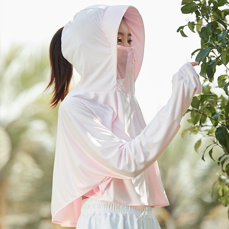 防晒衣女2020新款长袖防紫外线透气冰丝夏季薄款开车外套防晒开衫