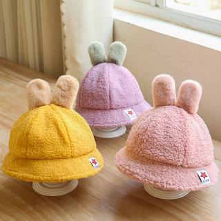儿童帽子秋冬季男童女童韩版新款渔夫帽遮阳可爱宝宝洋气盆帽婴儿