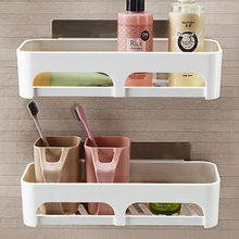Kitchen articles shelf wall hanging storage rack non-punching bathroom wash table shelf wall toilet