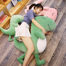 Dinosaur pillow doll plush toy girl lovely Chao Meng accompany you to sleep with girl doll lazy