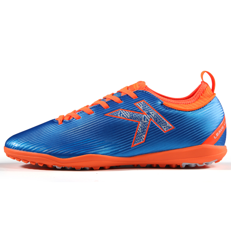 KELME adult football shoes men and women crushed nails anti-slip wear-resistant football match training shoes TF shock artificial grass