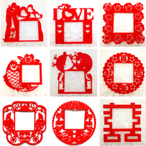 New creative switch stickers socket protective sleeve Korean wall stickers non-woven fabric wedding wedding Home Goods 10