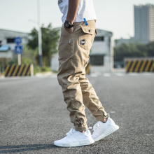 Genuine Chao Brand Euro-American Chao Brand Leisure Men's Pants Yuwen Le Workwear Shoe Pants Halen Small-footed Grinded Pants