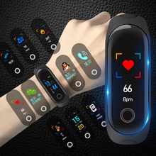 Watches, boys and girls, heart rate, blood pressure, intelligent alarm clock, high school students, multi touch touch-screen bracelet, movement electronic watch tide.