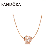 PANDORA Pandora Hollowed out Galaxy Elegant Chain ZT0128 Necklace Set for Girlfriend