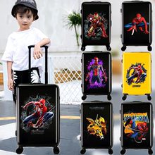 Spider-Man Children's Pole Box Boys 18-inch Universal Wheel Luggage Luggage 20-inch Pupil's Luggage Children's Luggage