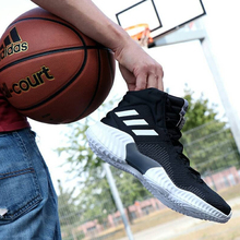 Adidas Men's Shoes Pro Bounce New High-Up Basketball Shoes AH2658